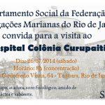 Visita ao Hospital Colônia de Curupaiti/RJ