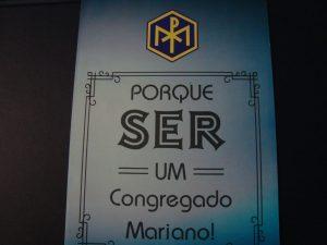"""Fôlder: """"Porque ser um Congregado Mariano!"""""""